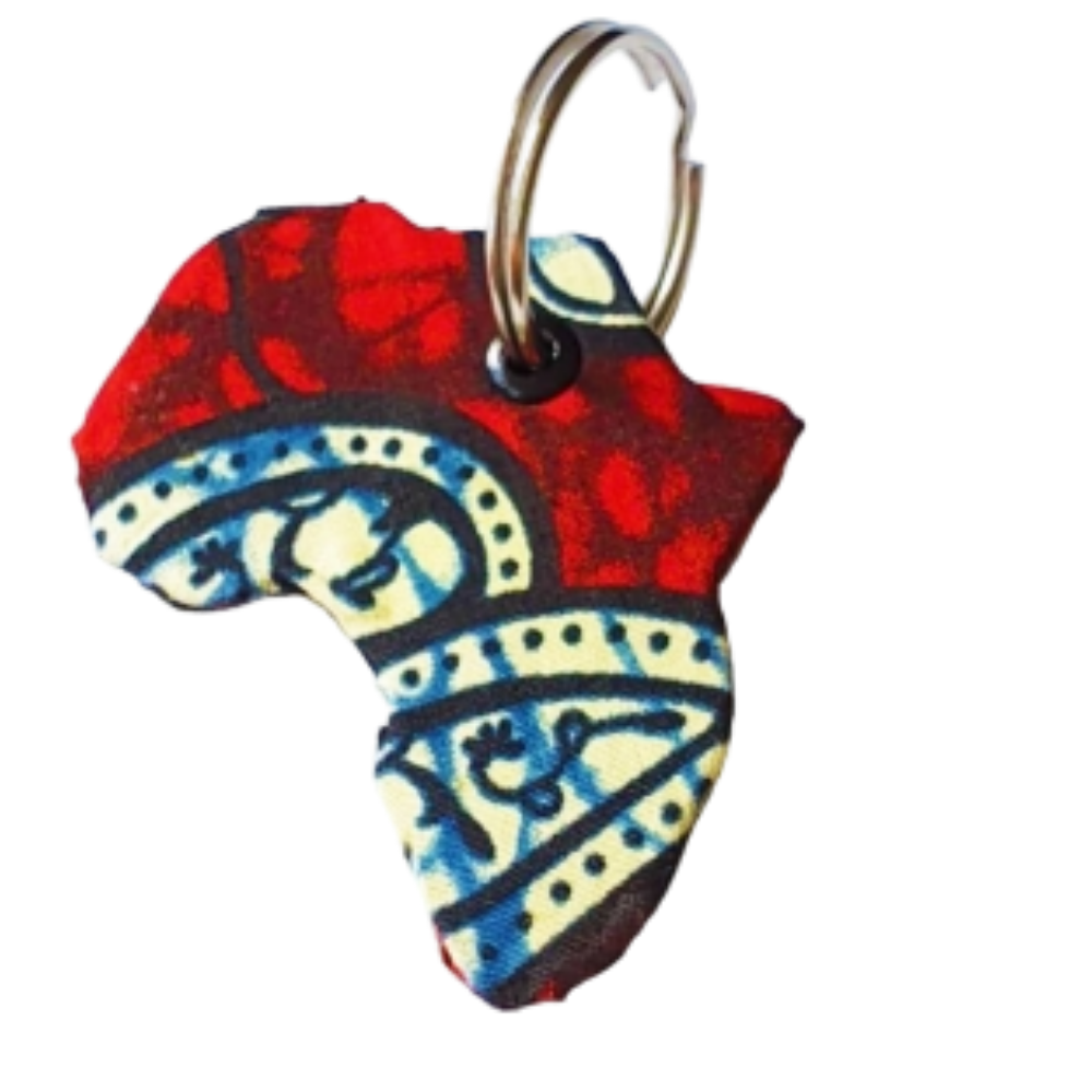 Africa Key Ring