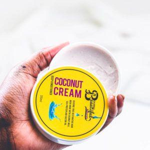 Coconut Cream Side View