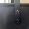 Leather Dashiki Tote Bag