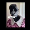 Monochrome 3D Ankara Facemask