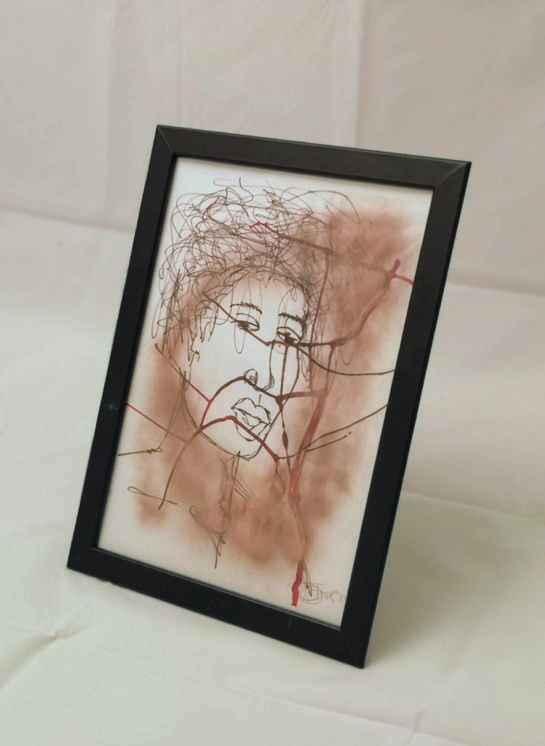 """D is for Dark"" A3 Framed Print 1"