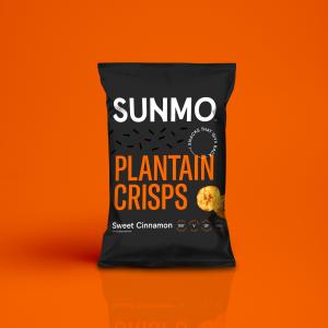 Plantain Crisps - Sweet Cinnamon Box of 12