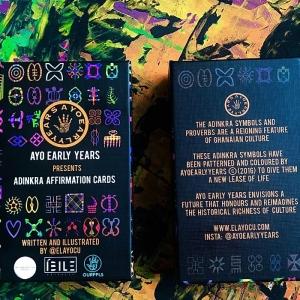 Cards (adinkra affirmation) (Pre Order)