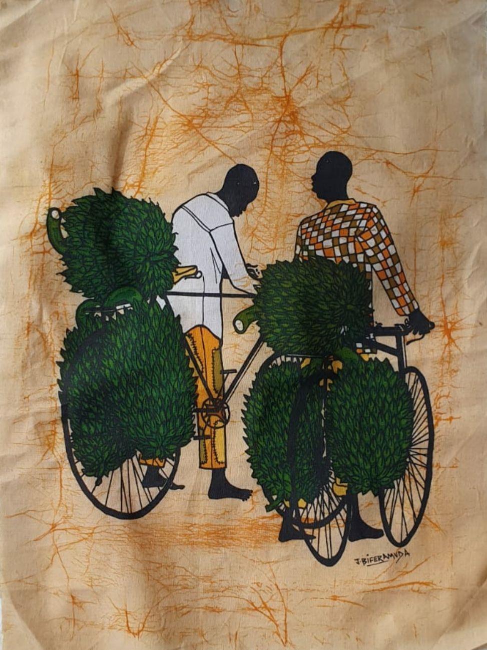 Hand Painted Batik 1