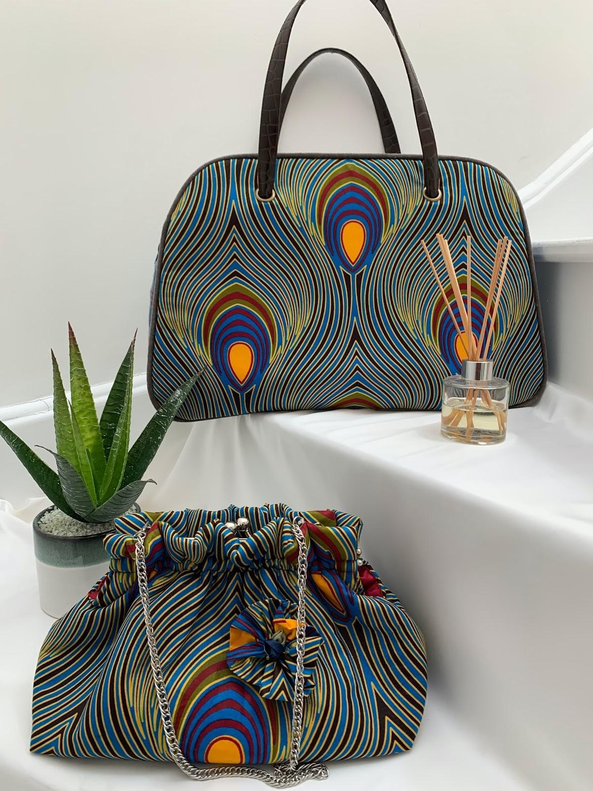 Monsini Peacock Bag 1 rotated