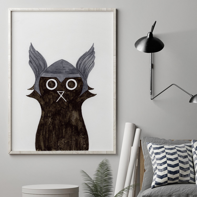 Thor Cat Print