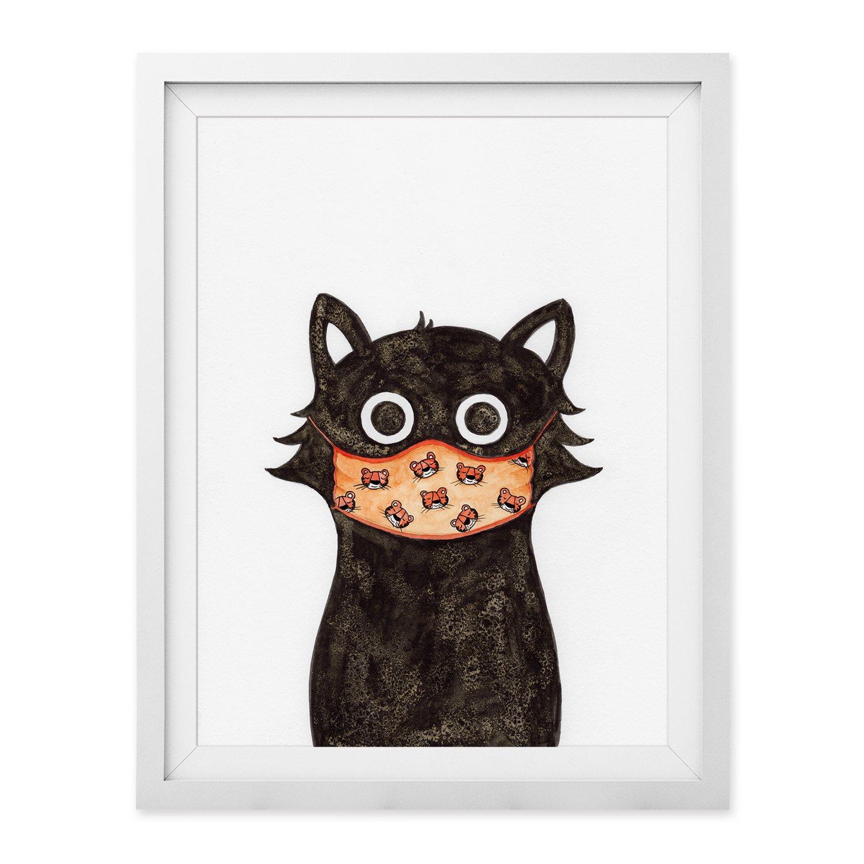 Tiger Cat Print