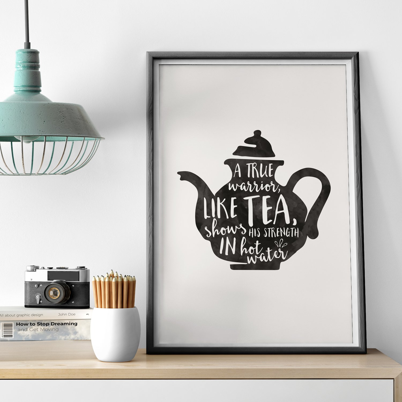 Warrior Tea Print