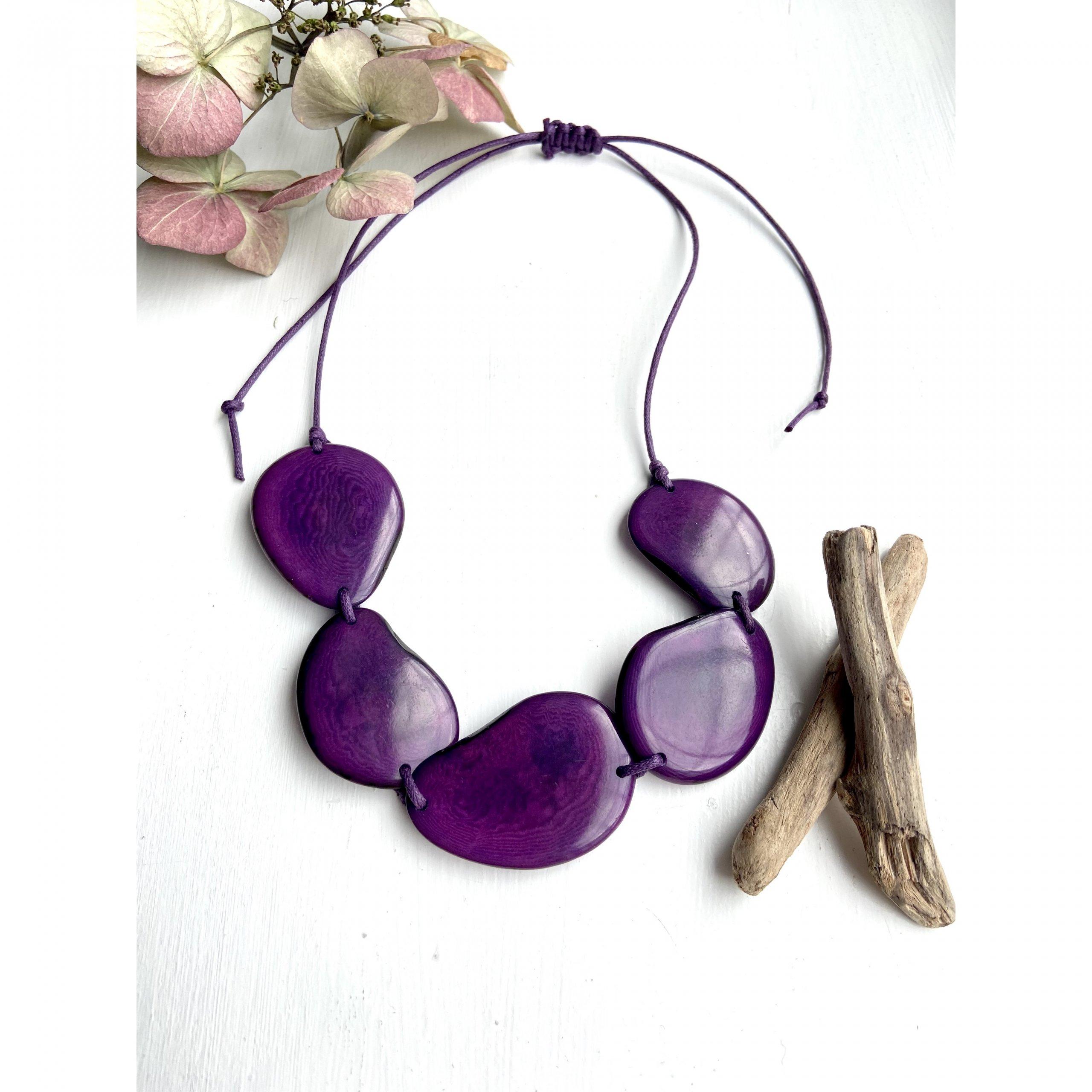 purple-tagua-jewellery-necklace-adjustable