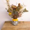 Sunshine Pampas Mix Vase 600x800px